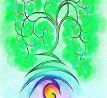Lightning Tree Poster by scholara