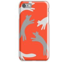 The Quick Grey Fox iPhone Case/Skin