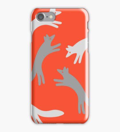 The Quick Grey Fox iPhone Case/Skin