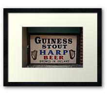 MADE IN IRELAND Framed Print