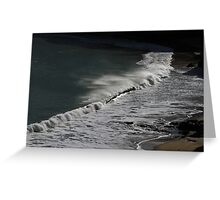 18 Year Low Tide nr Newquay & Trefalen,Stackpole,Pembrokeshire Greeting Card