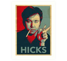 HICKS  Art Print