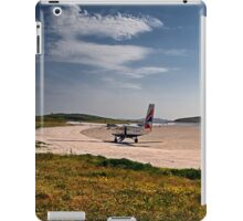 Landing on Barra iPad Case/Skin