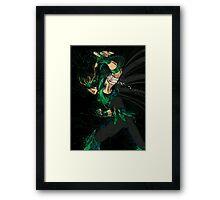 Rozan Sho Ryu Ha! Framed Print
