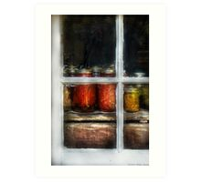 Country Preserves Art Print