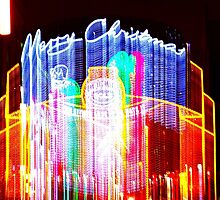 Christmas decorations, Oxford street, London, No 4 by lightworks