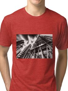 The Lloyd's of London Cheesegrater and Willis Group London Tri-blend T-Shirt