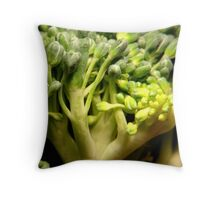 Broccoli Throw Pillow
