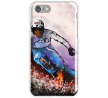 Skiing 02 iPhone Case/Skin