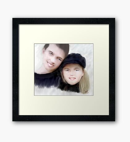 Jay and Kaylee Framed Print