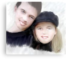 Jay and Kaylee Metal Print