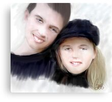 Jay and Kaylee Canvas Print