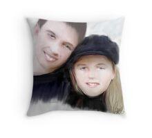 Jay and Kaylee Throw Pillow
