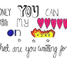 Lyrics from Love Me Like You Do  by qu1rky