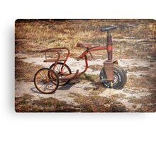 Old Tricycle Metal Print