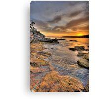 Sunrise Portrait - Balmoral Beach - The HDR Series Canvas Print