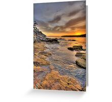 Sunrise Portrait - Balmoral Beach - The HDR Series Greeting Card