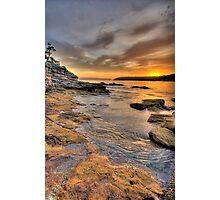 Sunrise Portrait - Balmoral Beach - The HDR Series Photographic Print