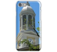 Clock Tower- Smalltown USA Series iPhone Case/Skin