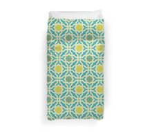 Moroccan wall pattern 19 Duvet Cover
