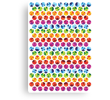 Colour wheels Canvas Print