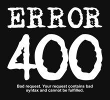 Error 400 by FrontierMM