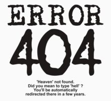 Error 404 Heaven not found by FrontierMM