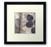 Rose Eco-print Framed Print