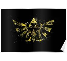 The Golden Power - Triforce Poster