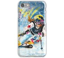 Skiing 03 iPhone Case/Skin