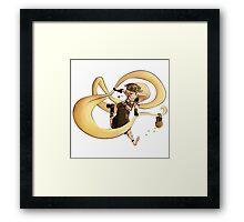 Rapunzel - Steampunk Framed Print