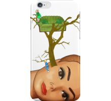 head tree iPhone Case/Skin