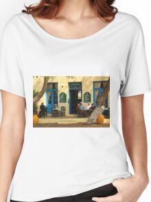 Traditional coffee house   Women's Relaxed Fit T-Shirt