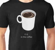 Coffee Premonition Unisex T-Shirt