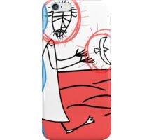 God's Spirit drove him into the wilderness iPhone Case/Skin