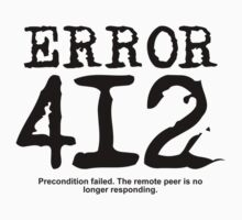 Error 412. Precondition failed. by FrontierMM