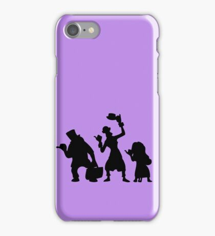 Haunted Mansion Hitchhiking Ghosts iPhone Case/Skin