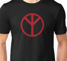 Premonition Reverse Peace Sign Unisex T-Shirt