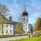 The Monastery Walls by vivsworld