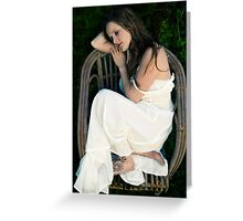 dreaming of prince charming Greeting Card