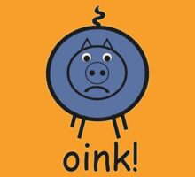 Oink is a little BLUE :o( by Sharon Stevens