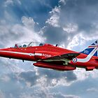 Hawk T1A Red Arrows - 50 Display Season Colours by © Steve H Clark Photography