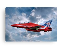 Hawk T1A Red Arrows - 50 Display Season Colours Canvas Print