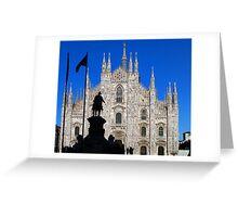 Milan Greeting Card