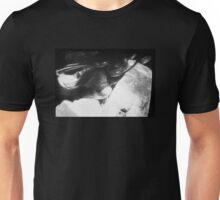 black glasses Unisex T-Shirt