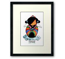 Rainbow - Angel of Hope Framed Print