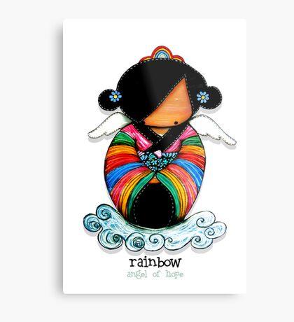 Rainbow - Angel of Hope Metal Print