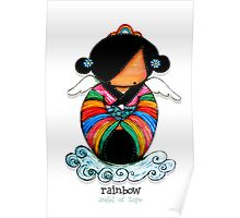Rainbow - Angel of Hope Poster