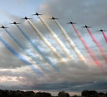 Red Arrows - Arrival by © Steve H Clark Photography