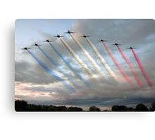 Red Arrows - Arrival Canvas Print
